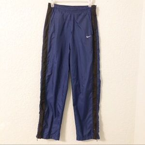 Nike Blue With Black Jogging Pants Size Small